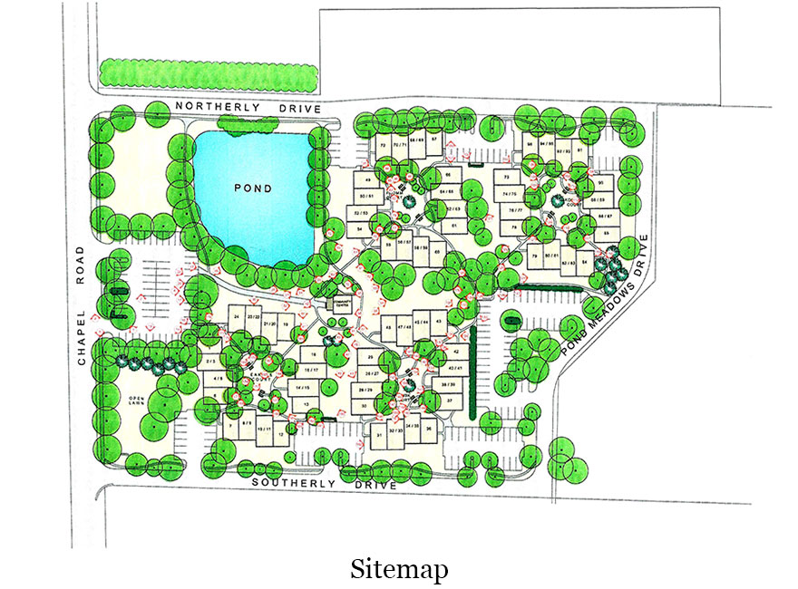 Pond Meadows Condos Site Plan